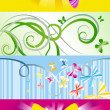 Butterflies banners — Stock Vector