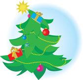 圣诞节树 — 图库矢量图片