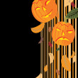 Vector Halloween background — Imagen vectorial