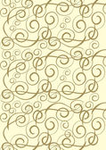 Gold ornament background — Stock Vector