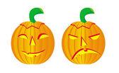 ハロウィーンの pumpkis セット — ストックベクタ