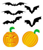 Vector Halloween image — Stock Vector