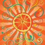 Orange juice — Stock Vector #25006115