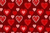 Srdce textury bezešvé — Stock vektor