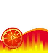 Portakal suyu — Stok Vektör