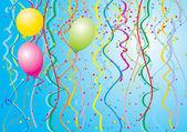 Nafukovacích balónků — Stock vektor