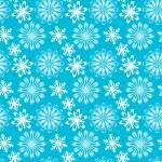Christmas vector border snowflake card — Stock Vector #25274673