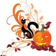 Vector Halloween set - Stock Vector