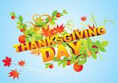 Card Happy Thanksgiving — Stock Vector