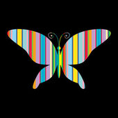 Colorful butterflie — Vector de stock
