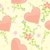 Ilustración de día de cosecha stylevalentines corazón rojo para el amor — Vector de stock