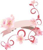 Floral card — 图库矢量图片