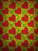 Heart textures seamless — Stock Photo