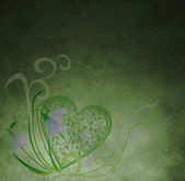 Background with heart — Stock Photo