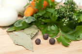 Cooking ingredients — Stockfoto
