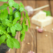 Pesto ingredients — Stock Photo