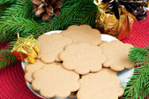 Pepparkakor cookies — Stockfoto