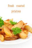 Rostad potatis — Stockfoto