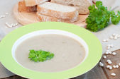 White bean soup — Stock Photo