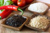 Uncooked rice — Stock Photo