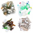 Selection of garbage — Stockfoto