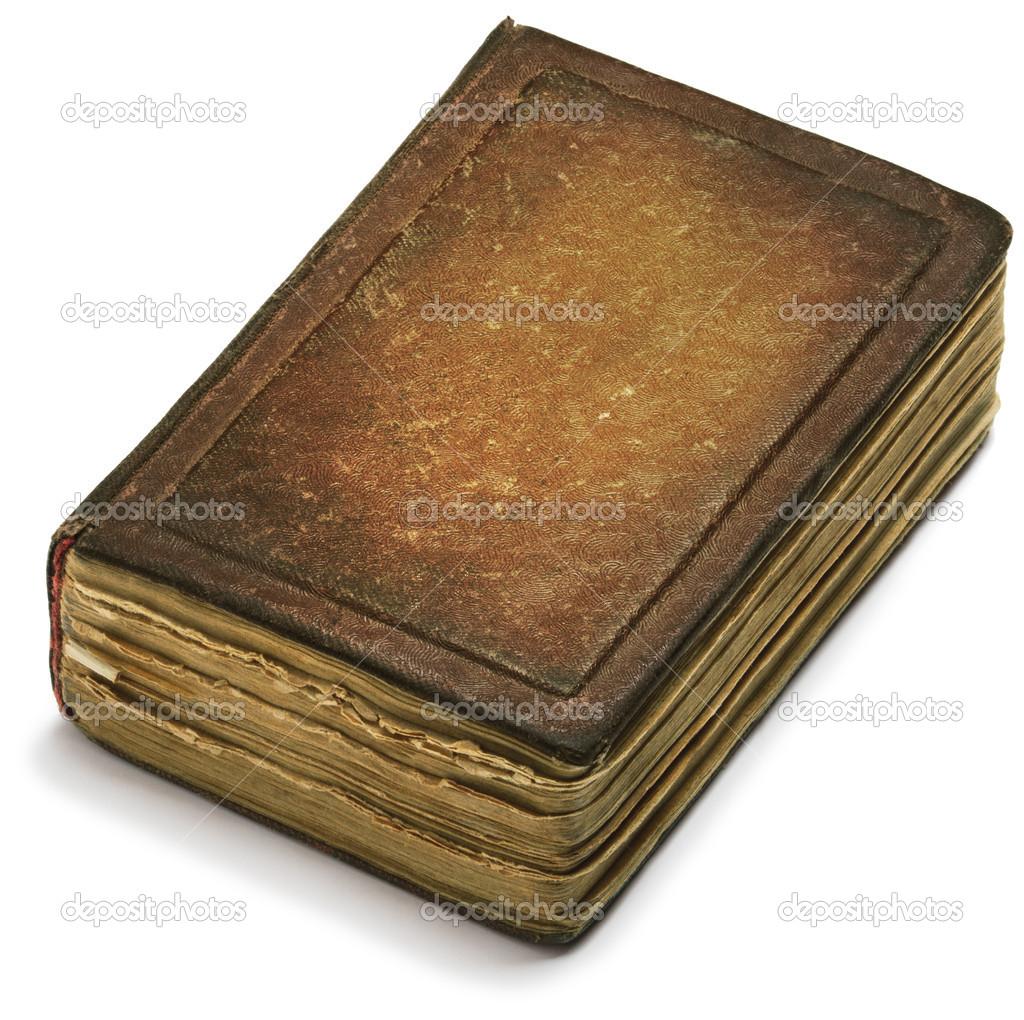 Book Cover Photography Hashtags : Eski kitap kapağı kahverengi kağıt beyaz zemin üzerinde