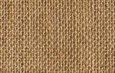 Fabric texture background of seamless linen sacking cloth, hessian sackcloth — Stock Photo