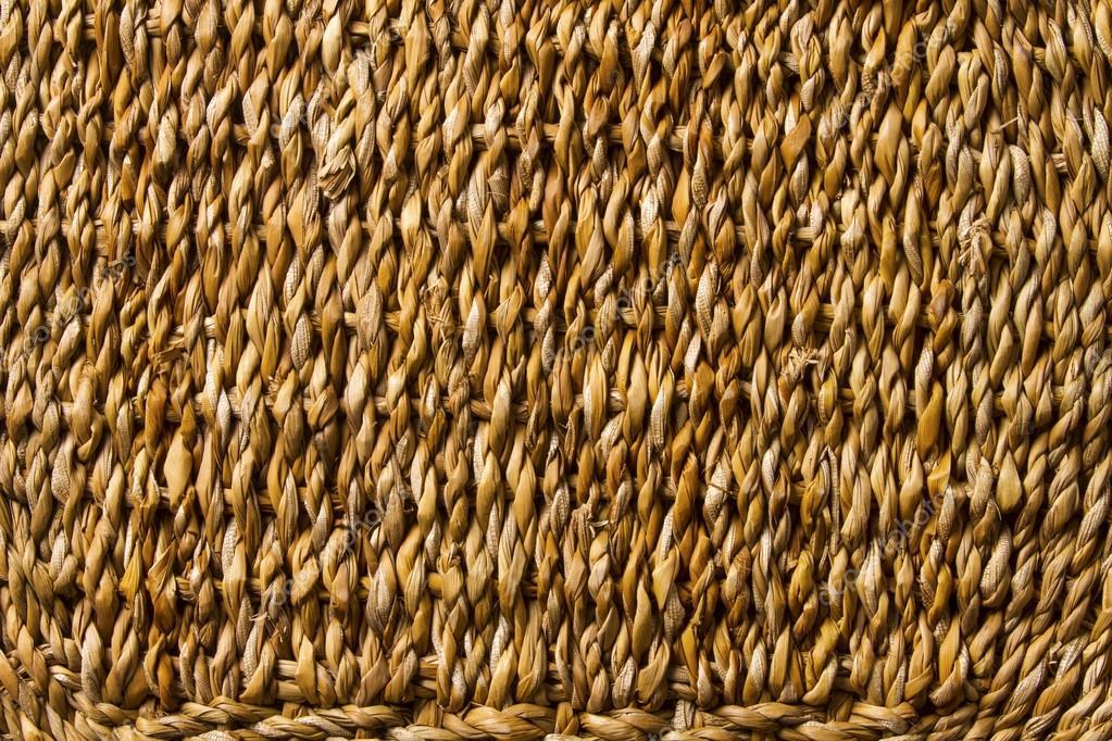 Trenza cesta mimbre tejido de fondo de macro textura de for Fabrica de canastas de mimbre