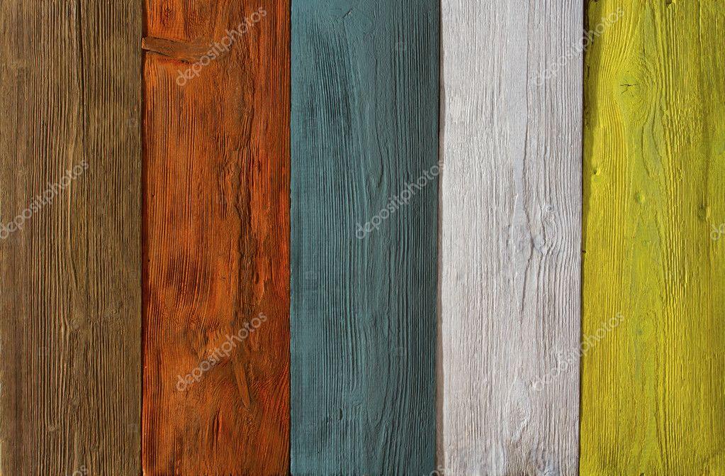Planche de bois de couleur fond de texture peint de - Planche de couleur ...