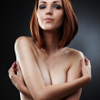 Gorgeous topless woman — Stock Photo #12899522