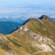 Landscape of Fagaras mountains in Romania, in a summer day — ストック写真