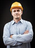 Ingegnere edilizia — Foto Stock