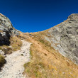 Landscape with mountain trail — Stock Photo #12900023