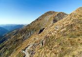 Landschap met hoogteweg — Stockfoto