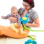 glückliche Mutter und Kind — Stockfoto