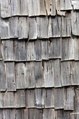Old wooden shingle background — Stock Photo