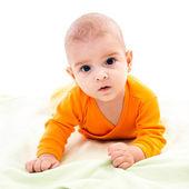 Newborn child — Stock Photo