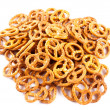 Baked pretzels — Stock Photo