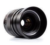 High quality prime lens over white — Stock Photo