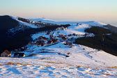 Ski resort in Romania — Stock Photo