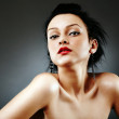 Glamour sexy young female portrait — Stock Photo #20064947