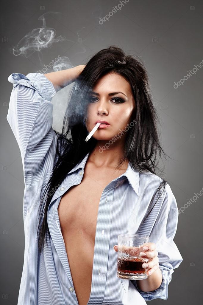 Rauchen sexy Zigarette jugendlich