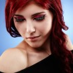 Glamour closeup of sensual young girl — Stock Photo
