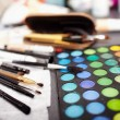 Professional makeup kit — Stock Photo