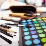 Professional makeup kit — Stock Photo
