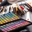 Stock Photo: Professional makeup kit