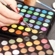 Eyeshadow palette — Stock Photo