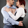 Foto Stock: Office romance