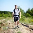 Man with backpack — Stock Photo #30058365