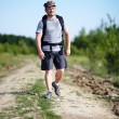 Man with backpack — Stock Photo #30058437